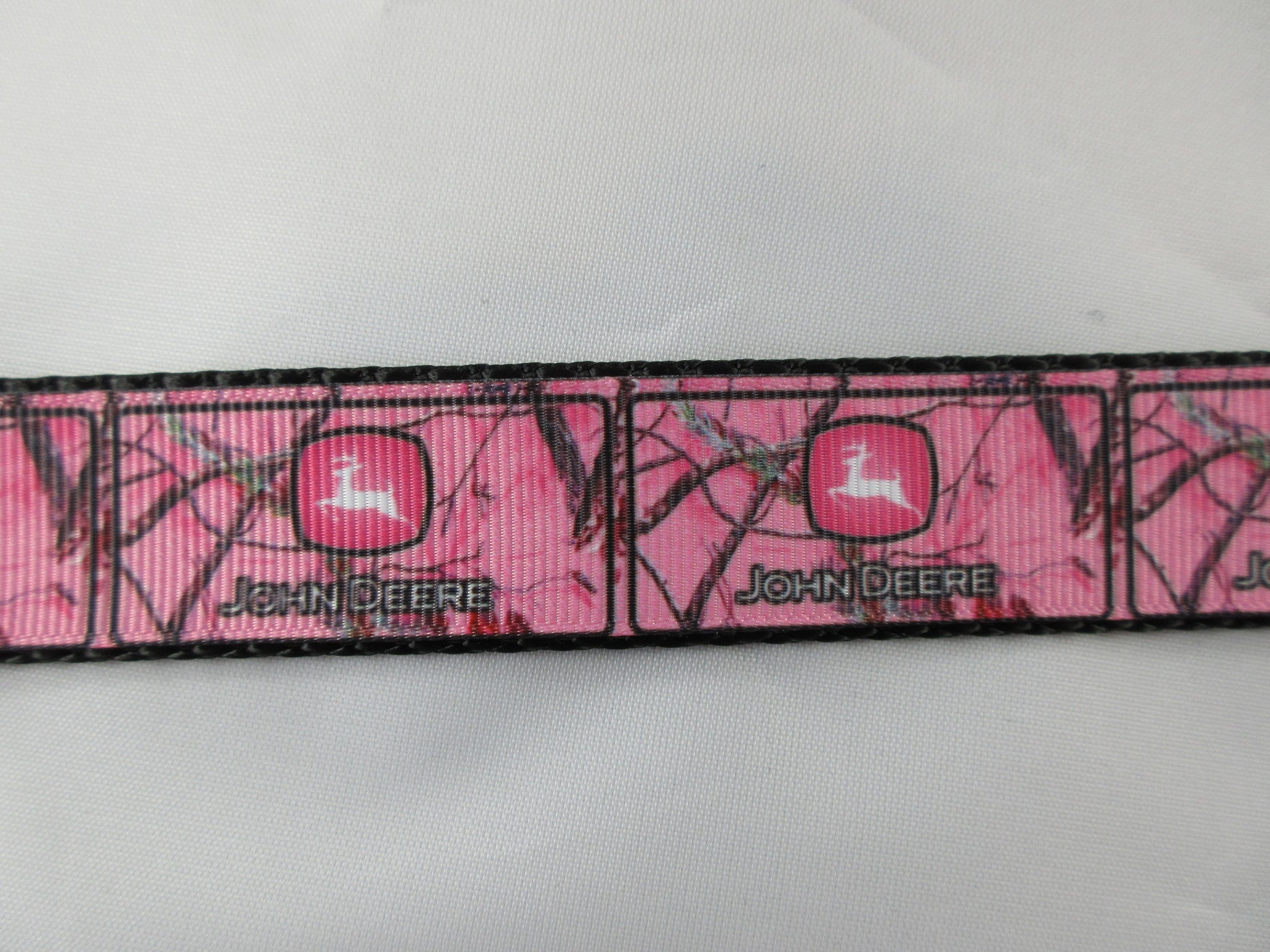 "1"" Pink JD Real Tree Camo Dog Collar - Penny and Hoover's Pig Pen"
