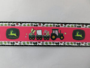"1"" Pink JD Leash - Penny and Hoover's Pig Pen"