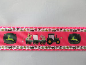 "1"" Pink JD Dog Collar - Penny and Hoover's Pig Pen"