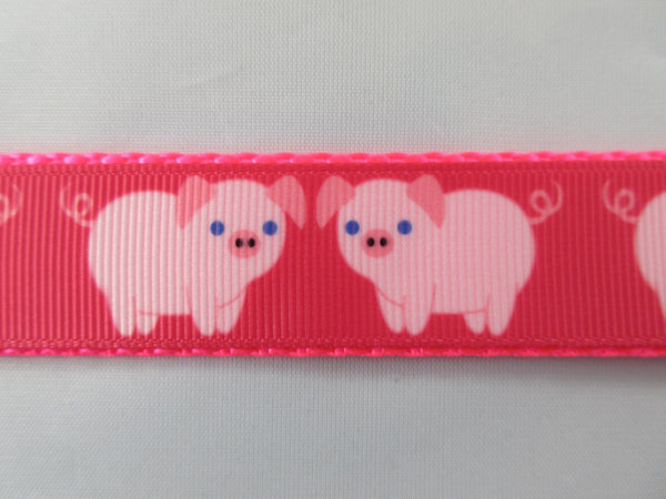 "3/4"" Pink Pigs Pig Harness - Penny and Hoover's Pig Pen"