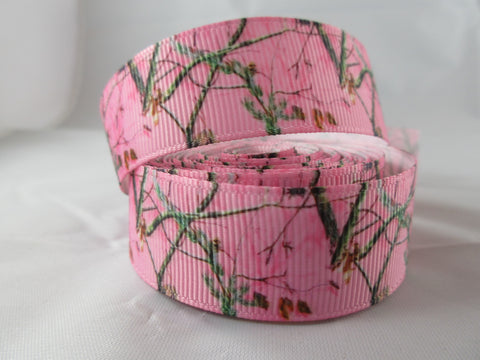 "1"" Pink Real Tree Camo Leash - Penny and Hoover's Pig Pen"