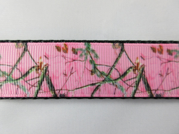 "1"" Pink Real Tree Camo Pig Harness - Penny and Hoover's Pig Pen"