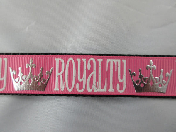 "1"" Pink Royalty Pig Harness - Penny and Hoover's Pig Pen"