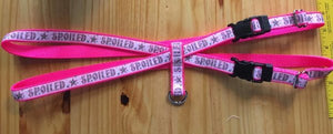 "1"" Pink Spoiled Pig Harness - Penny and Hoover's Pig Pen"