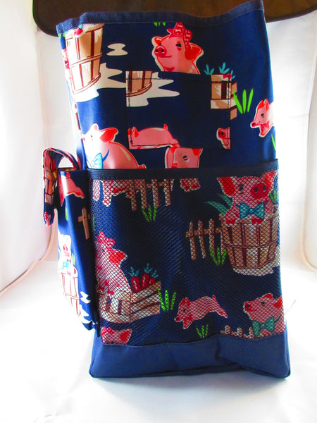 Pig Utility Bag - Penny and Hoover's Pig Pen