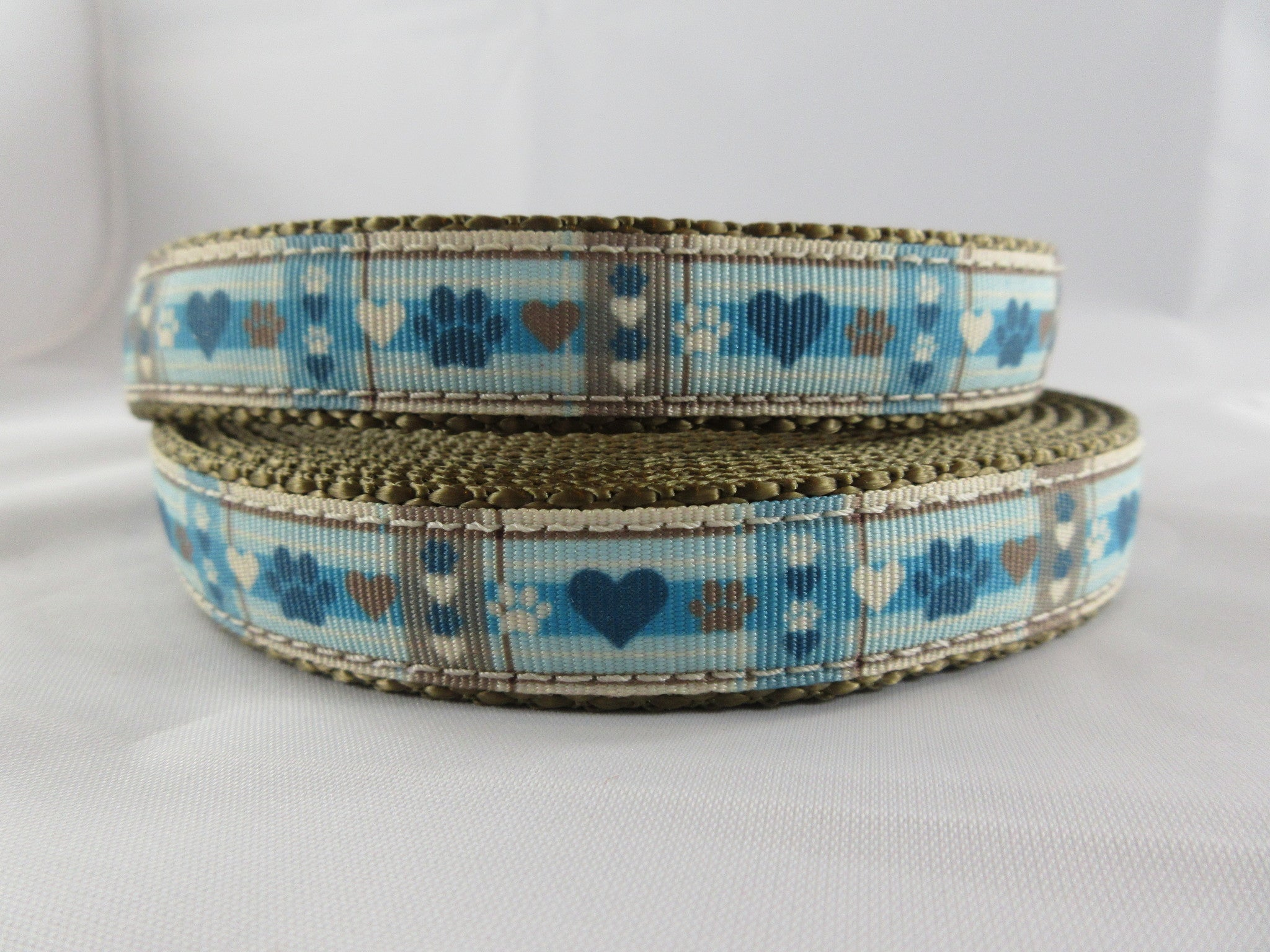 "3/4"" Puppy Picnic Dog Collar - Penny and Hoover's Pig Pen"