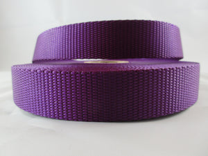"1"" Purple Nylon Leash - Penny and Hoover's Pig Pen"