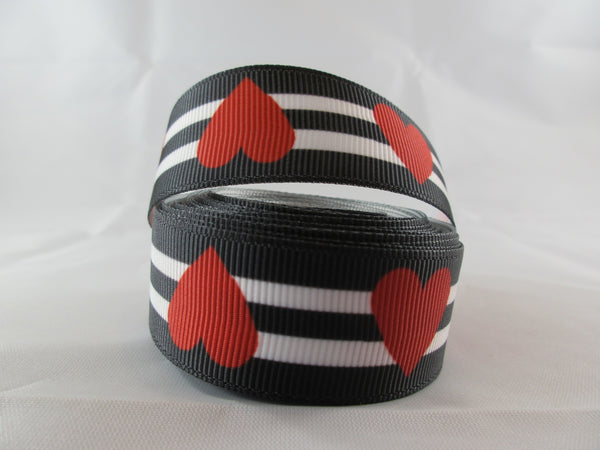 "1"" Queen of Hearts Leash - Penny and Hoover's Pig Pen"