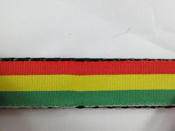 "3/4"" Rasta Dog Collar - Penny and Hoover's Pig Pen"