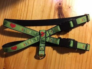 "3/4"" Rescued With Love Pig Harness - Penny and Hoover's Pig Pen"