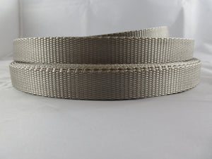 "3/4"" Silver Nylon Leash - Penny and Hoover's Pig Pen"