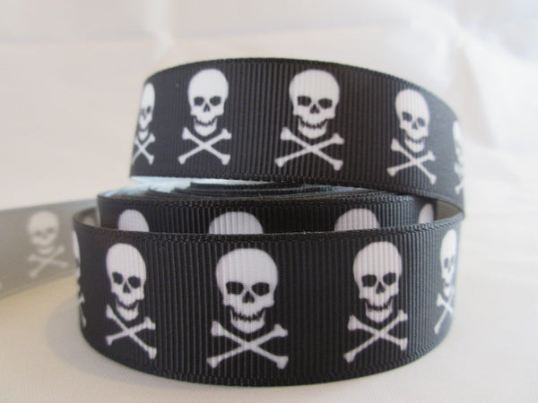 "1"" Skull and Crossbones Pig Harness"