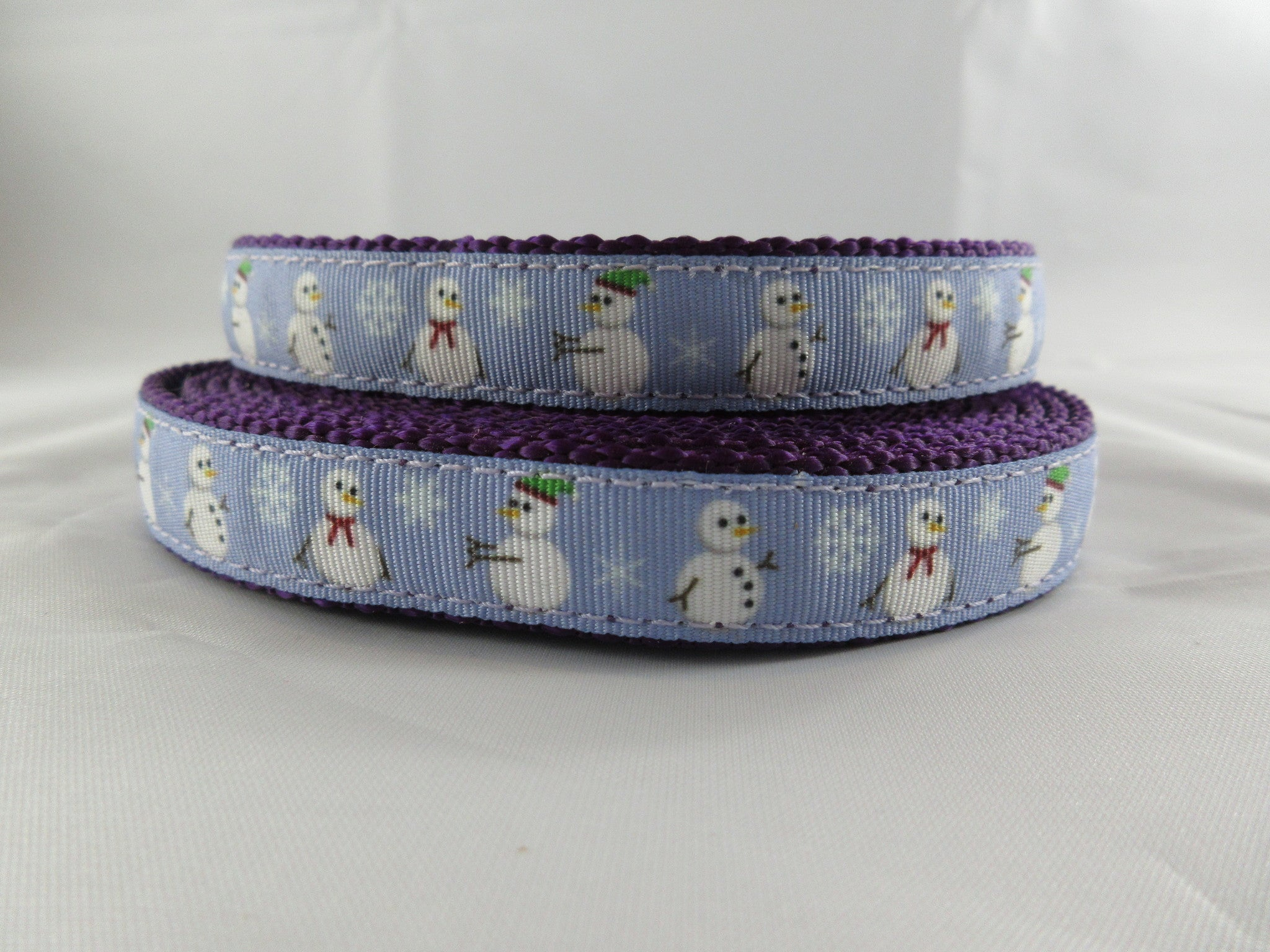 "3/4"" Snowman Leash - Penny and Hoover's Pig Pen"