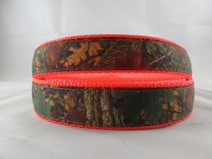 "3/4"" Southern Forest Camo Leash - Penny and Hoover's Pig Pen"