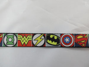 "1"" Super Hero Leash - Penny and Hoover's Pig Pen"