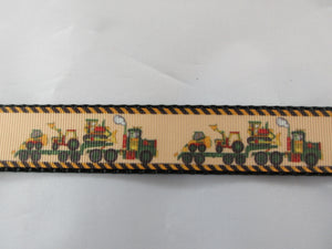 "1"" Tractor Trailer Dog Collar - Penny and Hoover's Pig Pen"