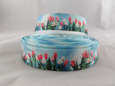 "3/4"" Tulips Leash - Penny and Hoover's Pig Pen"