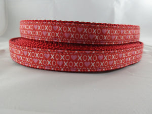 "3/4"" XOXO Dog Collar - Penny and Hoover's Pig Pen"