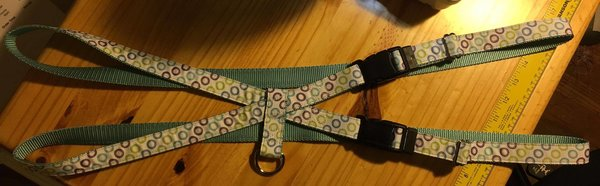"1"" Zocalo Pig Harness - Penny and Hoover's Pig Pen"