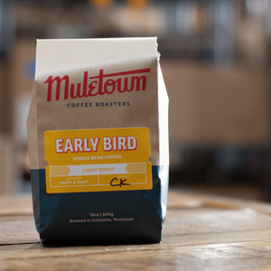"Orange/Cream ""Go Team"" T"