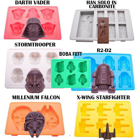Star Wars Molds (7pcs)