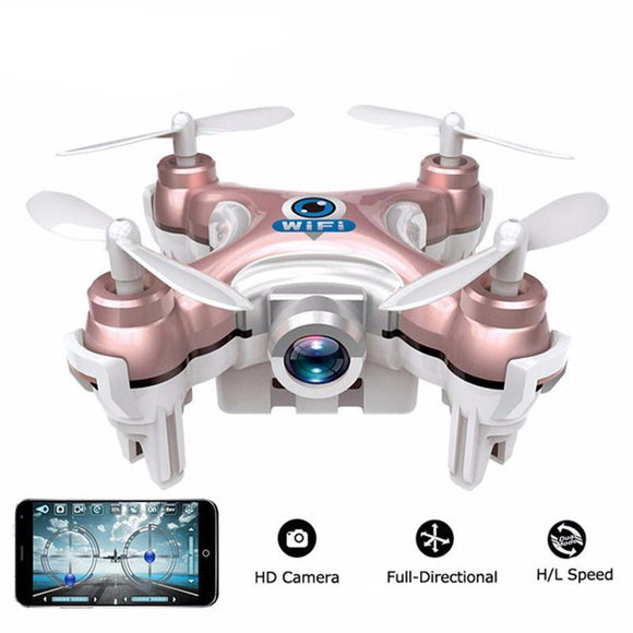 Mini 6-Axis Gyro Drone Wi-fi Smartphone Control With High Quality Camera