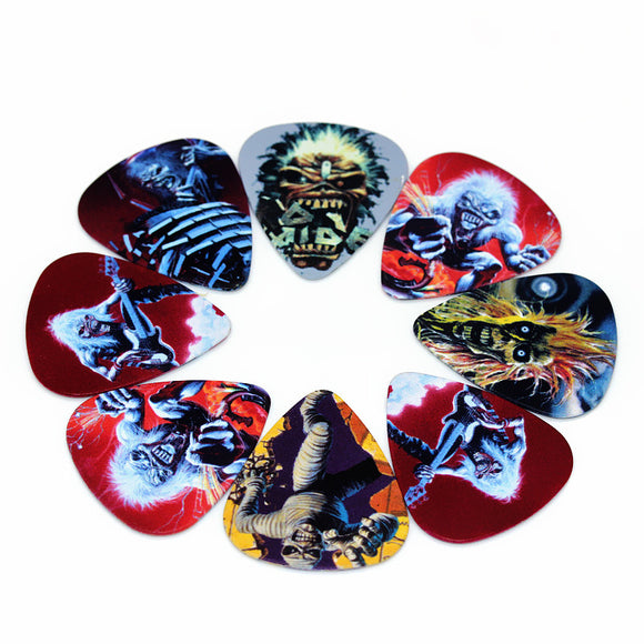 10 Iron Maiden Guitar Picks