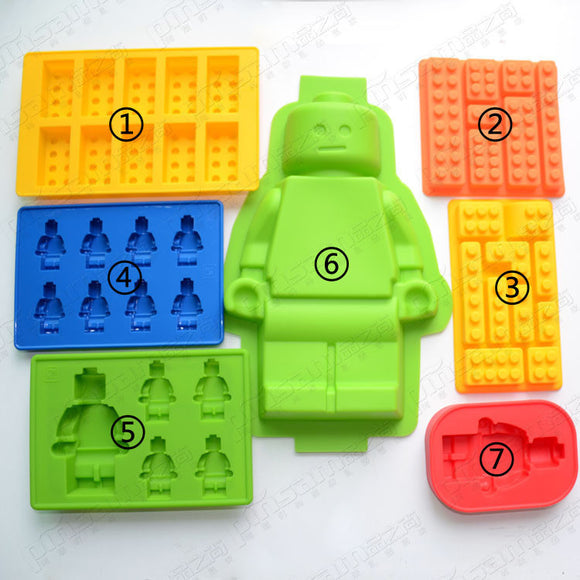 Lego Figurines Mold