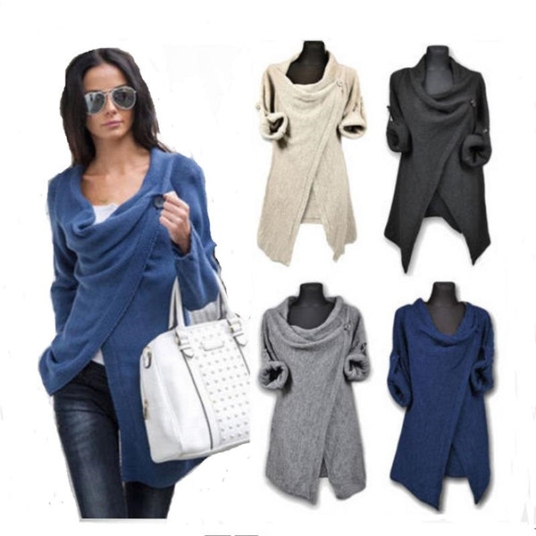 Poncho Sweater (4 Colors)