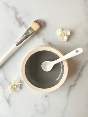 Mask Bowl & Brush Set