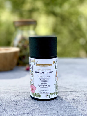 Spring Awakening Herbal Tisane