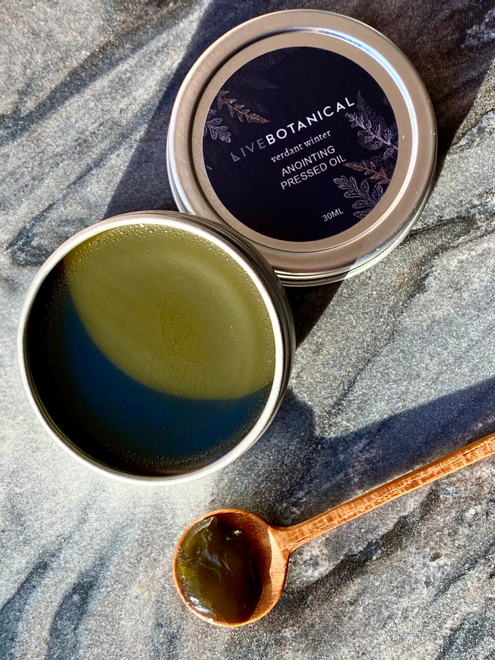 Verdant Winter Anointing Pressed Oil