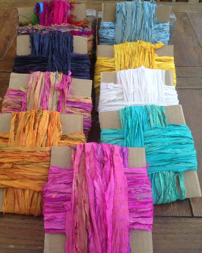 What Makes Recycle Sari Silk Ribbon Special?