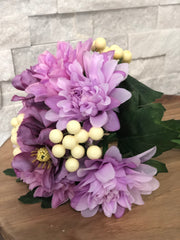 Lavendar Spring Mix Flower Bouquet/Centerpiece