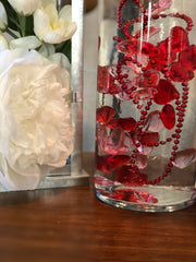 Valentines Day Decor DIY Floating Pearl Centerpiece 60pc Mix