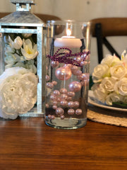 Decor Ideas For Wedding, Bridal Shower, Baby Party, Birthday Party. Light Pink Floating Pearl Decoration/Centerpiece