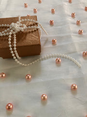 Rose Gold Table Pearls For Wedding And Party, Table Confetti, Vase Fillers