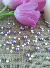 Small Pearl Confetti Mix, Table Scatters (150pc) No Hole Pearls