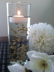Champagne Pearls For Floating Pearl Centerpieces, Jumbo Pearls Vase Fillers, Scatters, Confetti