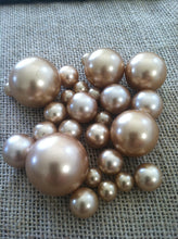 Champagne/White Jumbo Floating Pearls Centerpiece, Vase Fillers, Table Scatters