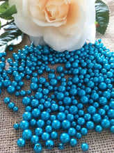 Turquoise Green Pearls For Floating Pearl Centerpieces, Jumbo Pearls Vase Fillers, Scatters, Confetti