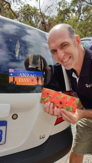 Anzac Day Sticker