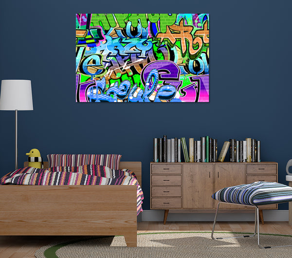 Andrew's Graffiti - Metal Prints