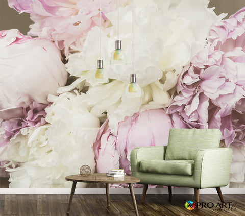 Antique Floral - Full Wall Mural