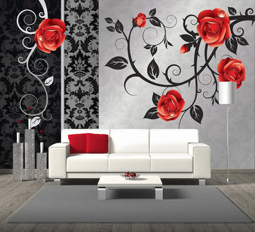 Angel Red - Full Wall Mural