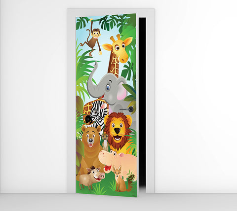 Animals - Door Mural