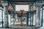 Basketball - Street - Full Wall Mural