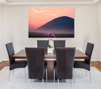 Blush Mountain - Canvas