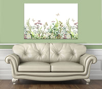 Butterfly Garden - Canvas