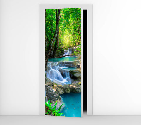 Crystal Clear - Door Mural